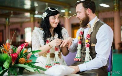 Hochzeit am Wasserfall in Phuket – Lisa & Marc