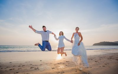 Thai Beach Wedding – Daniela & Neal