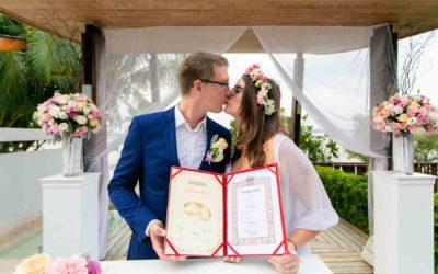 Standesamtlich Heiraten in Thailand