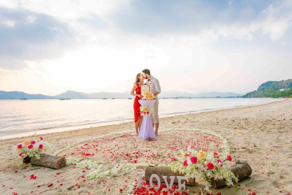 Strandhochzeit in Phuket, Thailand