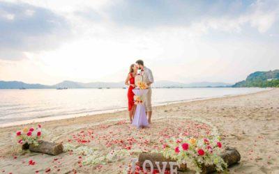 Strandhochzeit in Phuket – Stefan & Lorrie