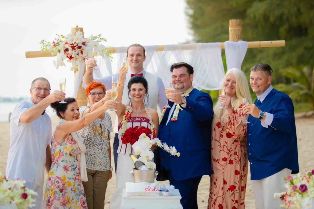 Thai Beach Wedding Khao Lak