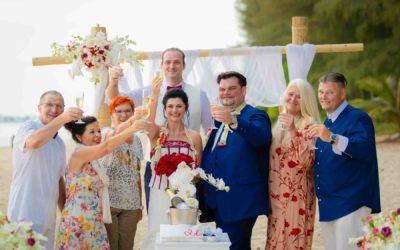 Beach Wedding in Khao Lak – Nicole & Aleksandar