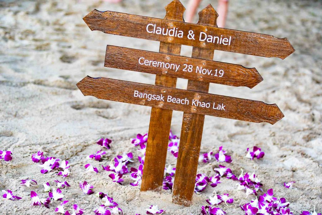 Phuket Wedding Service - Claudia & Daniel 2